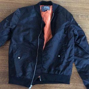 Brooklyn cloth bomber jacket